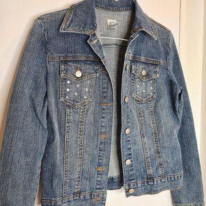 Cache Jeans Denim Jacket size 6